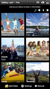 Gallery Lock (Hide pictures) Screenshot