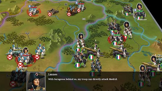 European War 6: 1804 - Napoleon Strategy Game 1.2.28 Screenshots 13