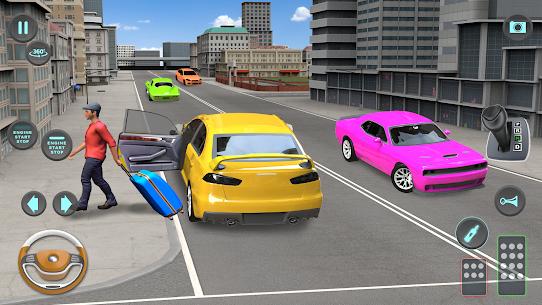 City Taxi Driving simulator: PVP Cab Games 2020 3