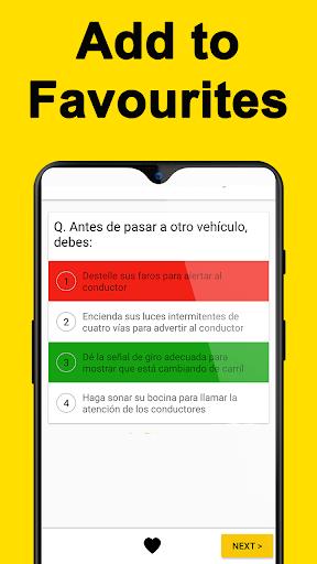 DMV Permit Practice, Drivers Test & Traffic Signs  Screenshots 6