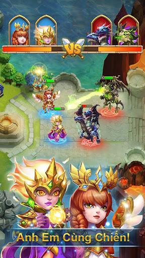 Castle Clash: Quyu1ebft Chiu1ebfn-Gamota screenshots 4