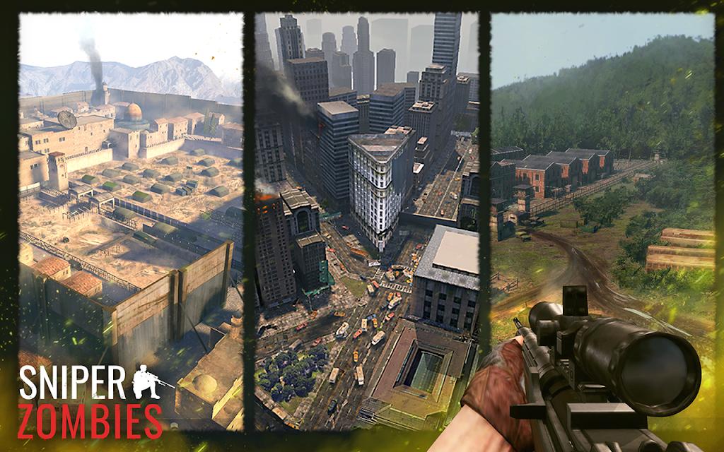 Sniper Zombies: Offline Games 3D  poster 4