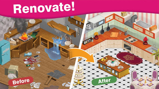 Home Cafe : Mansion Design - Match Blast 5.3 screenshots 13