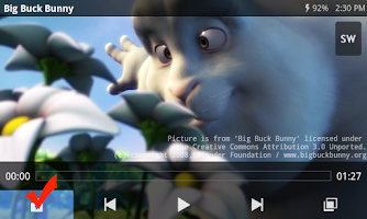 screenshot of Kids Lock (plugin)