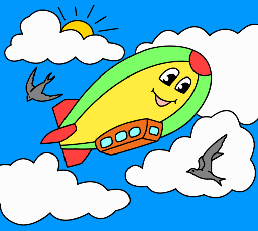 Coloring pages for children : transport 1.1.9 screenshots 15