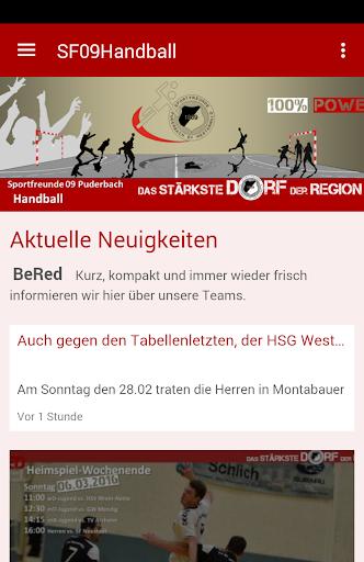 sportfreunde 09 handball screenshot 1