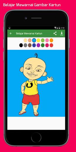 Belajar Mewarnai Gambar Kartun Untuk Anaku2013Infokuu  Screenshots 5