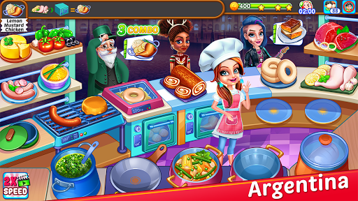 Cooking Express : Food Fever Cooking Chef Games screenshots 3
