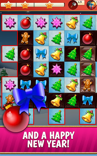 Christmas Crush Holiday Swapper Candy Match 3 Game 1.66 screenshots 8