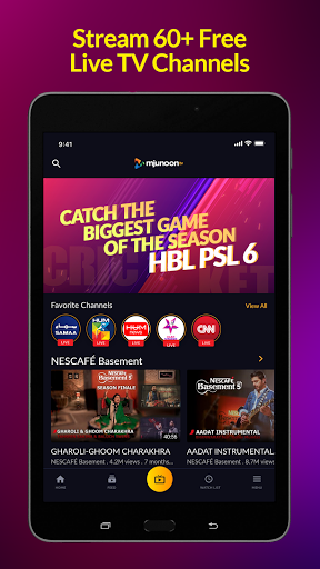 mjunoon.tv: Watch PSL 6 2021 Live and Free  Screenshots 14