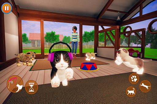 Virtual Cat Simulator - Open World Kitten Games  screenshots 4