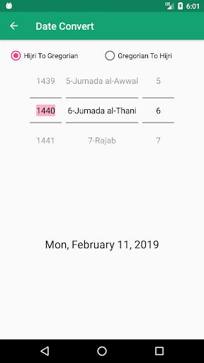 Hijri Calendar: Prayer Times, Event, Reminder  Screenshots 6