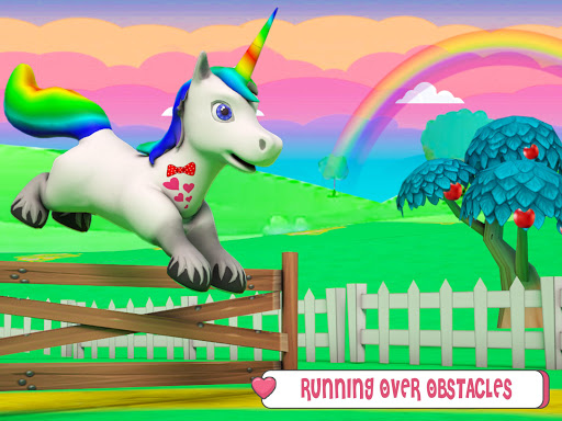 Baby Unicorn Wild Life: Pony Horse Simulator Games 1.2.5 screenshots 8