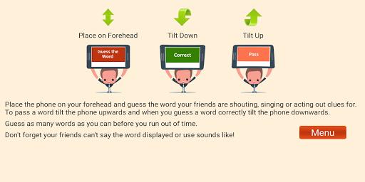 Charades Guess the Word 1.8 Screenshots 4