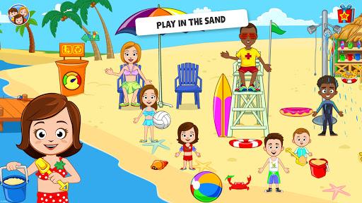 My Town : Beach Picnic Free screenshots 2