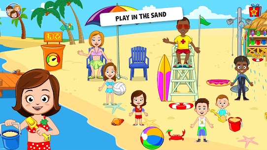 My Town : Beach Picnic Free 2