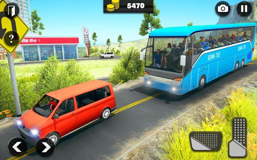 Offroad Bus Driving Simulator 2019: Mountain Bus apktram screenshots 6