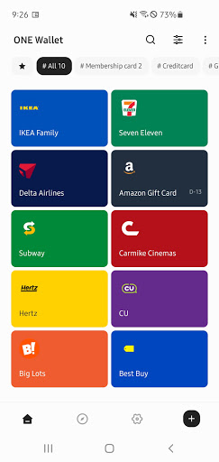 ONE Wallet - Your Pass Wallet 1.9.2 Screenshots 6