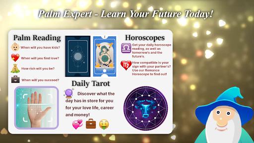 Palm Expert - Palmistry, Horoscope & Tarot Reading screenshots 1