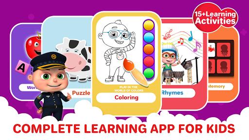 ABC Song - Rhymes Videos, Games, Phonics Learning  Screenshots 4