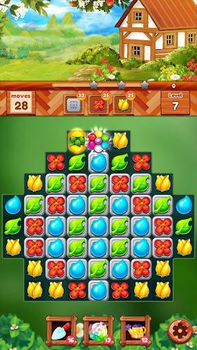 Garden Dream Life: Flower Match 3 Puzzle  screenshots 7