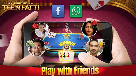 Teen Patti Comfun-Indian 3 Patti Card Game Online 7.4.20210728 Screenshots 1