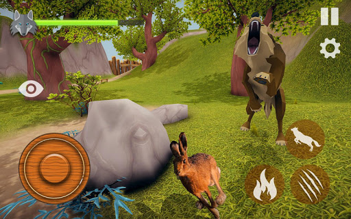 the wolf simulator 3d: animal family tales screenshot 3