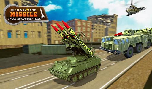 Missile Attack Combat Tank Shooting War Screenshot 2