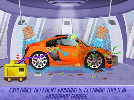 Kids Sports Car Wash Cleaning Garage 1.16 screenshots 11