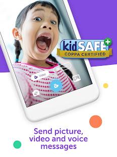 Kinzoo Messenger For Kids
