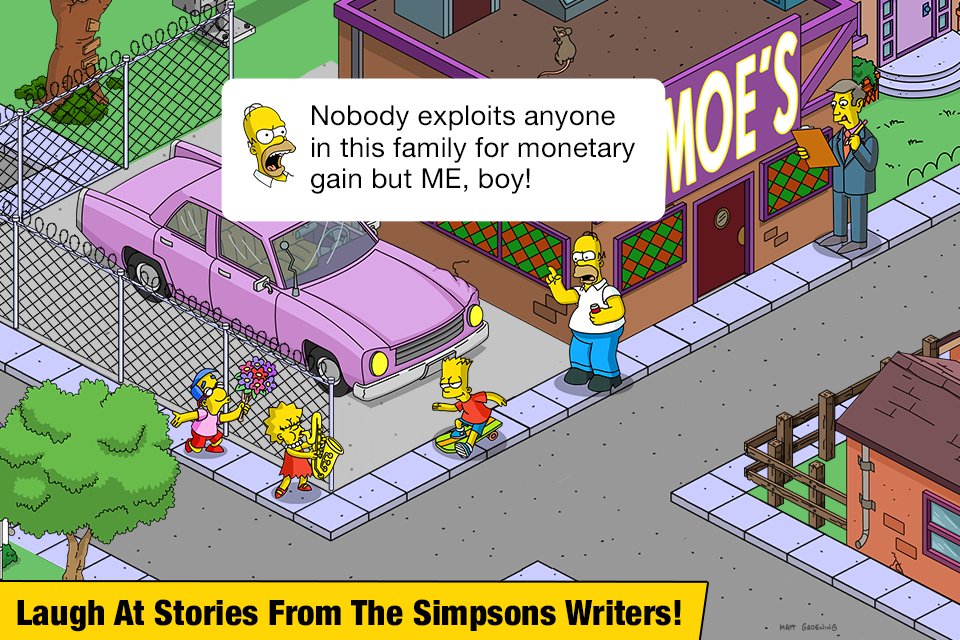The Simpsons™: Tapped Out poster 4