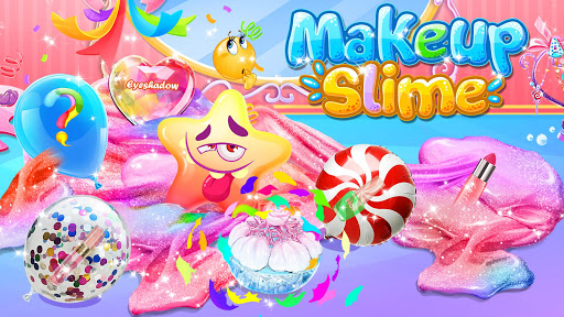Bubble Balloon Makeup Slime  - Slime Simulator  screenshots 1
