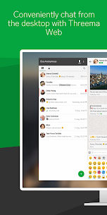 Threema. Secure and private Messenger 4