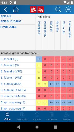 Sanford Guide:Antimicrobial Rx 4.2.15 Screenshots 4