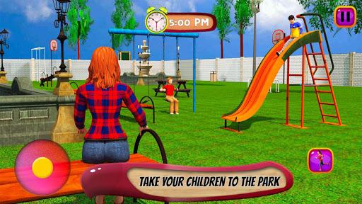 Virtual Mother Life Simulator - Baby Care Games 3D Apkfinish screenshots 1