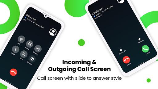 iCallScreen - OS14 Phone X Dialer Call Screen apktram screenshots 9