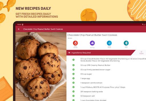 Cookies And Brownies Recipes  Screenshots 9