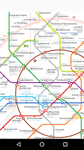 Moscow metro map 1.2.6 Mod APK Updated 3
