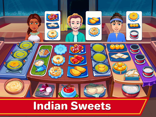 Indian Cooking Madness - Restaurant Cooking Games android2mod screenshots 16