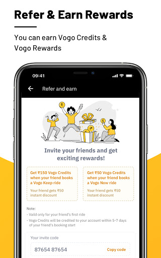 VOGO -Scooter & Bike Rental App | Rent.Ride.Return modavailable screenshots 5