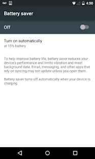 Battery Saver Shortcut +Widget