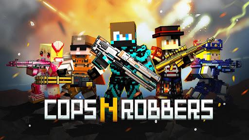 Télécharger Cops N Robbers - FPS Mini Game APK MOD (Astuce) screenshots 1