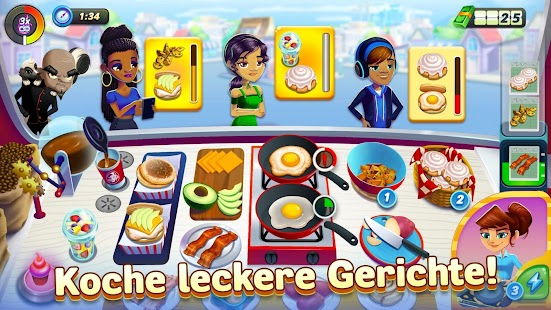 Diner DASH Adventures – a cooking game Screenshot