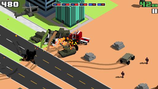 Smashy Road: Wanted android2mod screenshots 4