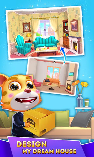 Code Triche Cat Runner: Decorate Home (Astuce) APK MOD screenshots 4