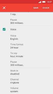 Speaking clock DVBeep Pro Apk (Paid) 5