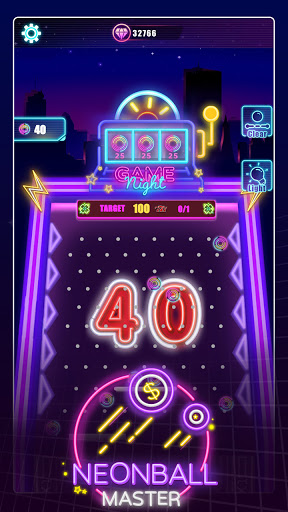 Neonball Master apktreat screenshots 1