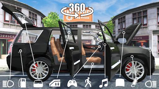 Car Simulator Escalade Driving apktreat screenshots 1
