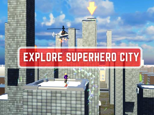 Code Triche Spider Rope Hero - Gangster New York City (Astuce) APK MOD screenshots 4