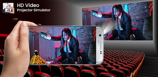 HD Video Projector Simulator Apk app for Android 3